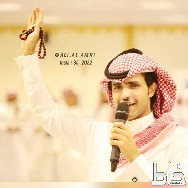 المنشد / عبدالله حامد يحتفل بتخرجه من جامعة الملك خالد