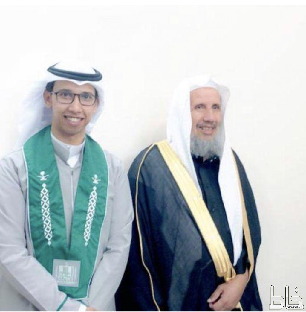 المهندس عبدالله محمد صقران يحتفل بتخرجه من جامعة الملك خالد