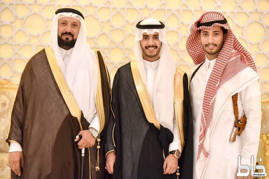 """آل شرفان يحتفلون بزواج إبنهم الأستاذ """" أحمد """""""