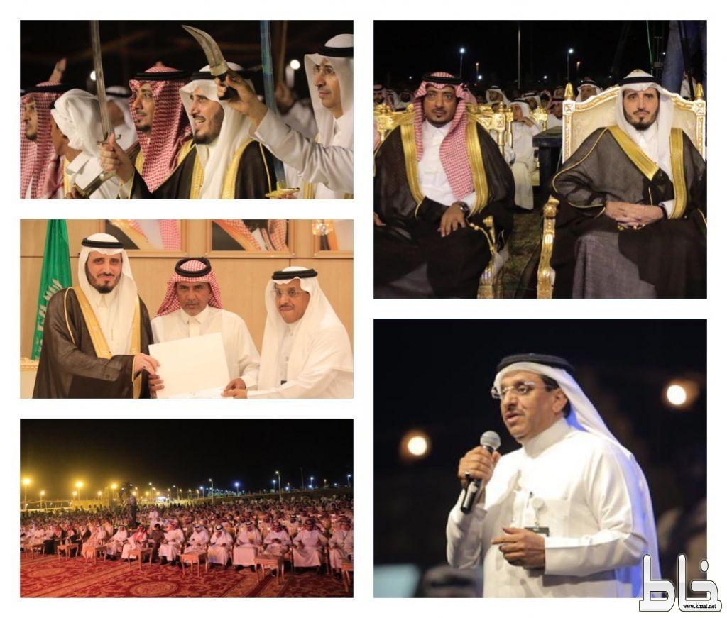 """برعاية """"البناوي"""" المهرجان العربي للإعلام السياحي يختتم مهرجان #بارق الشتوي"""