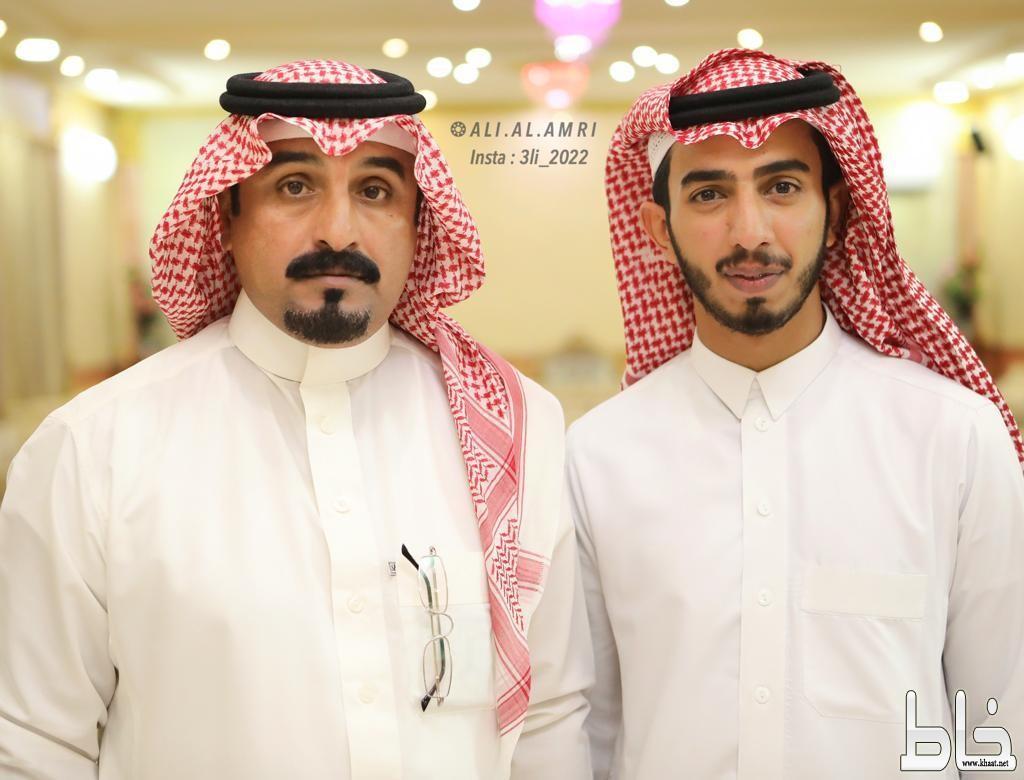 الاستاذ عبدالله العمري يحتفل بتخرج ابنه الملازم علي
