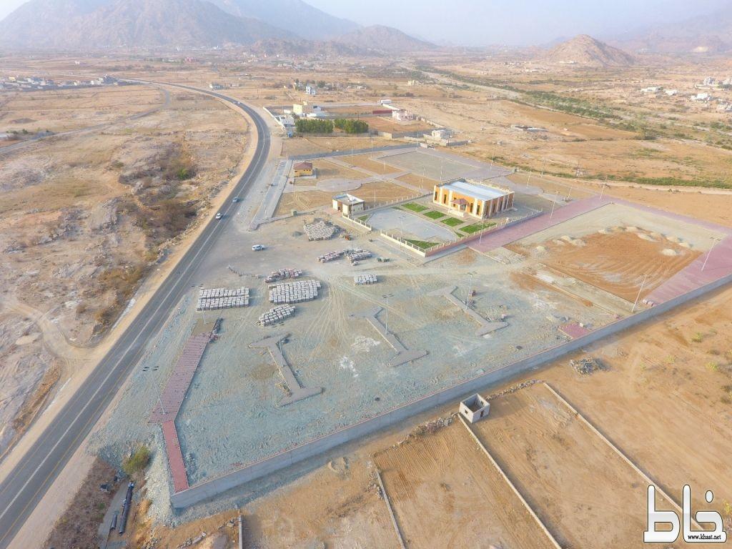 بلدية بارق تنفذ عدة مشاريع تنموية في المنظر و ربيعه و سياله والسليم