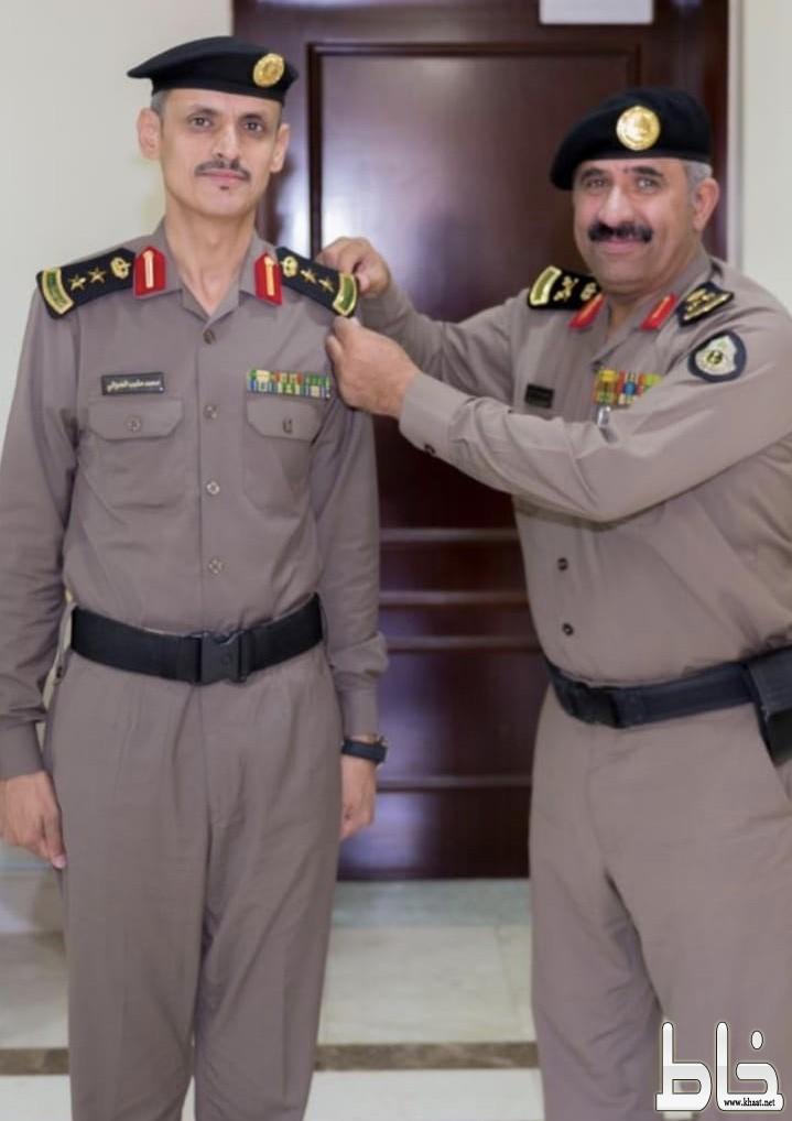 ترقية العدواني مدير شرطة محافظة المجاردة إلى عقيد