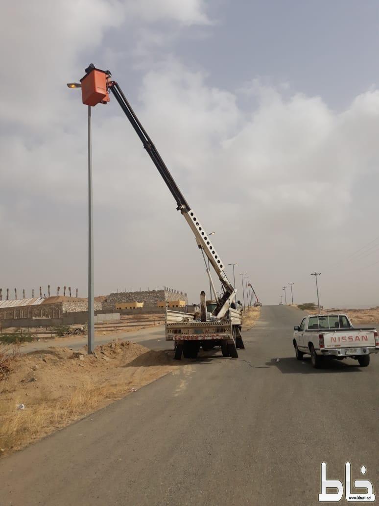 بلدية بارق تستعد لأستقبال عيد الفطر السعيد لعام 1440هـ