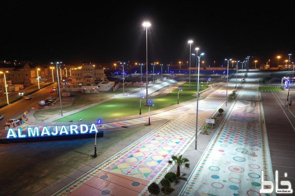 بلدية المجاردة تبدع في استقبال العيد وتجهز الحدائق والطرقات