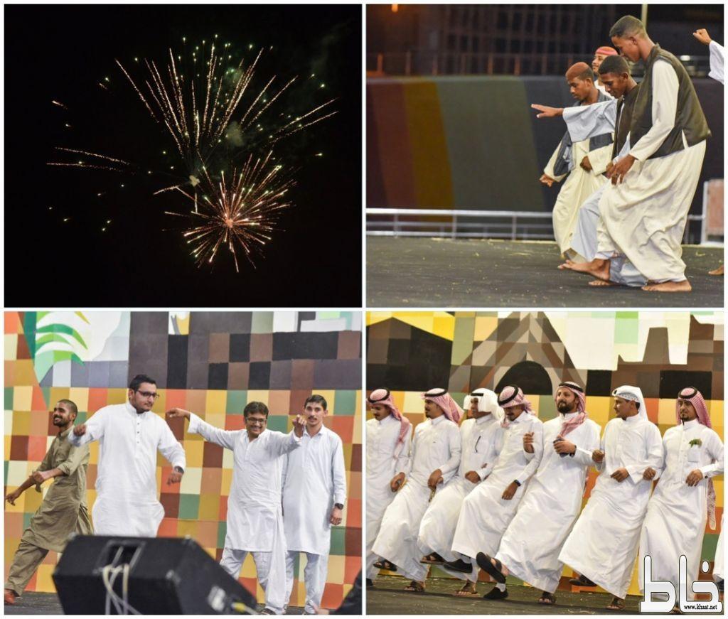 أهالي محافظة المجاردة والمقيمين يحتفلون بعيد الفطر المبارك