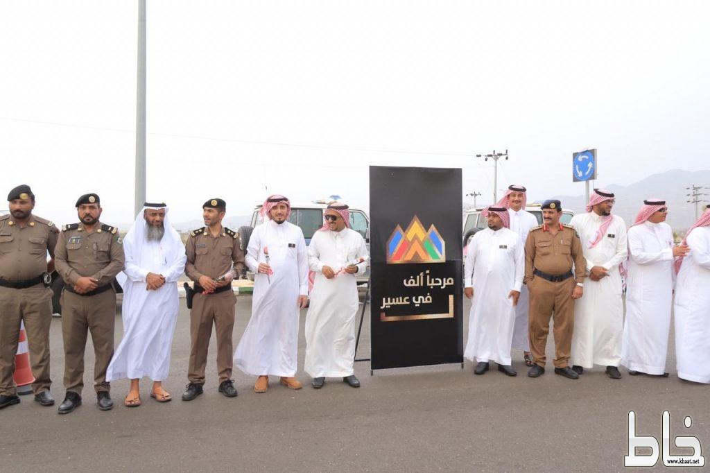 محافظ بارق يستقبل زوار المنطقة وتفعيل مبادرة حسن الوفادة