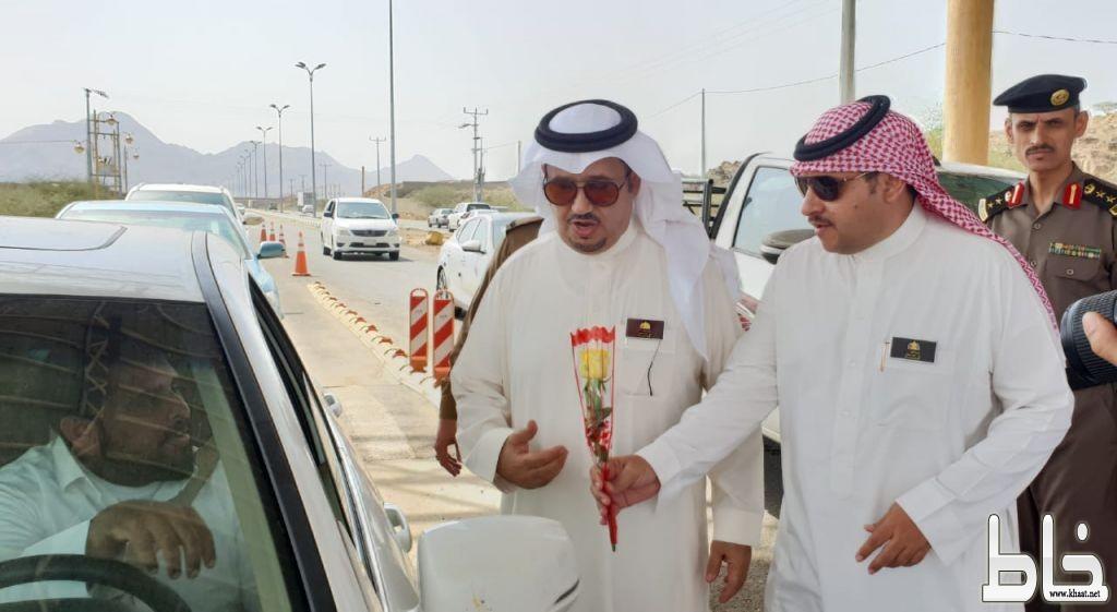 محافظ المجاردة يستقبل زوار المنطقة وتفعيل مبادرة حسن الوفادة