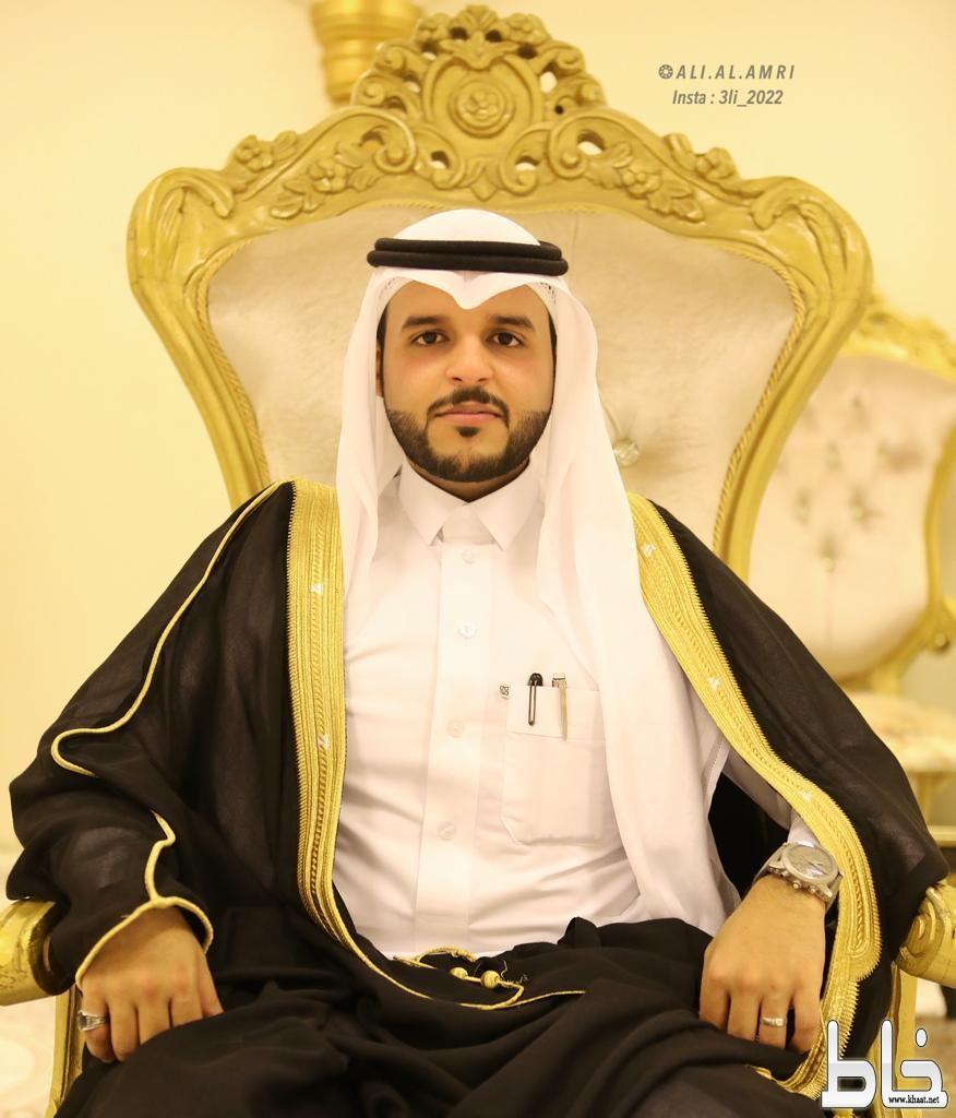 المحامي علي بن صالح العمري عريساً