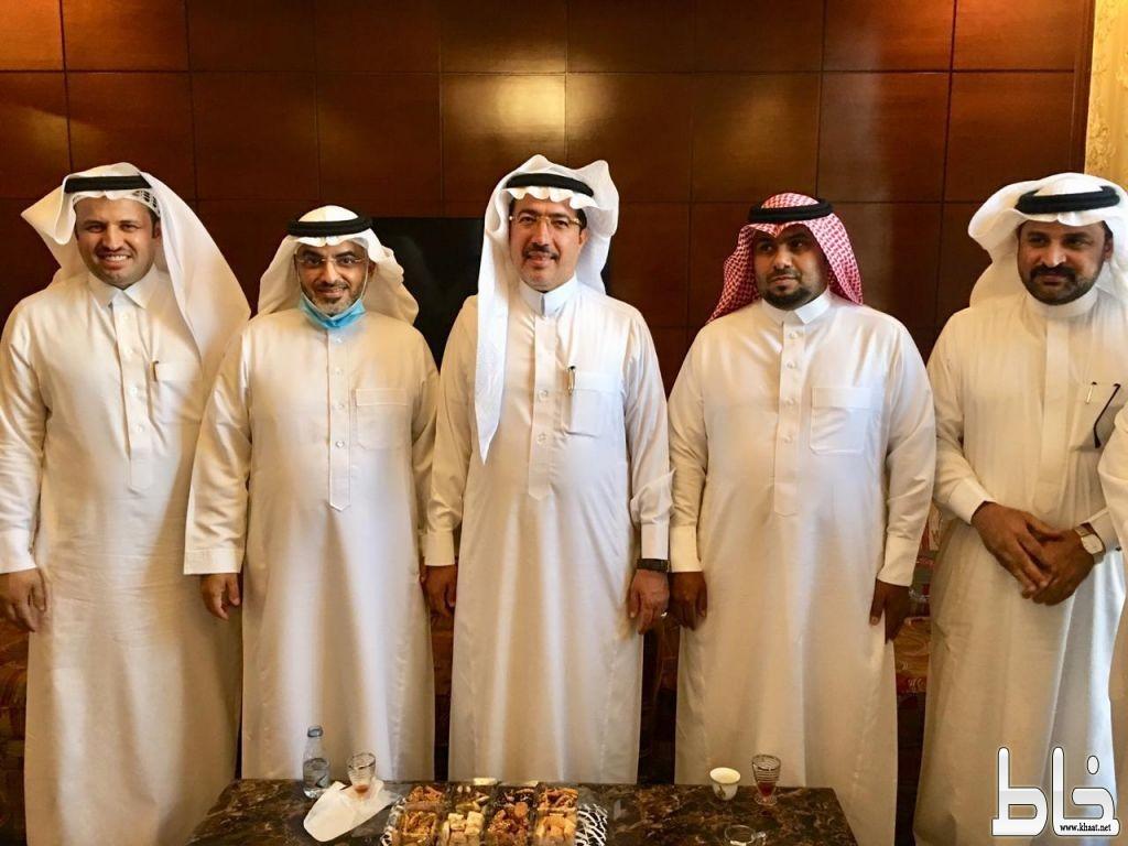 أمين عسير ورؤساء البلديات في زيارة خاصة للمحجاني رئيس بلدية المجاردة