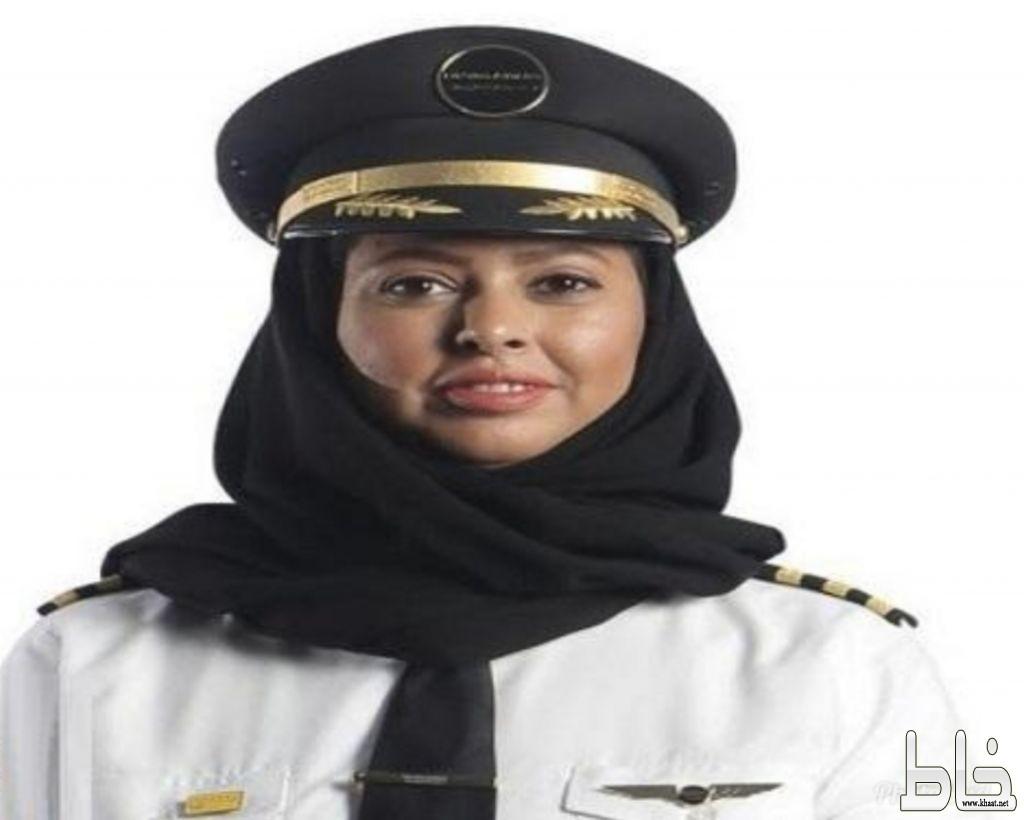 تعرف على أول سعودية تقود الطائرة في المملكة تروي تجربتها بعد هبوطها بمطار حائل