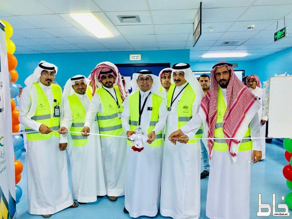 السلومي يدشن مبادرة حسن الوفاده في مستشفى المجاردة العام