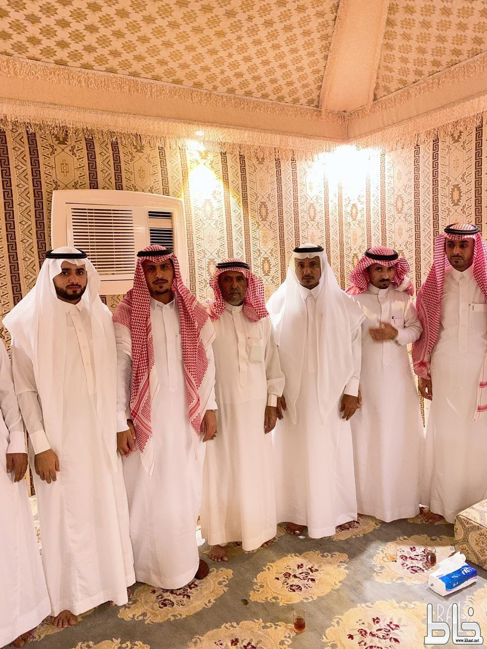 عبدالله يعقد قرانه على كريمة الشيخ العواجي