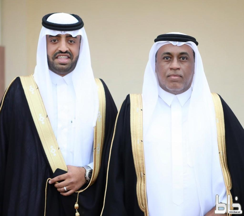 صاحب العمري رئيس تحرير صحيفة خاط يحتفل بزواج ابنه نواف