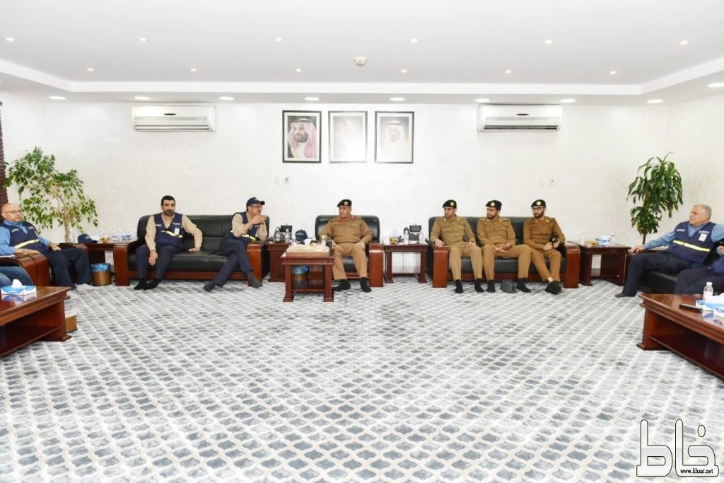 """""""العليا للأمن الصناعي"""" تطلع على تقنيات العمليات والتحكم في """"السعودية للكهرباء"""" بالمشاعر المقدسة"""
