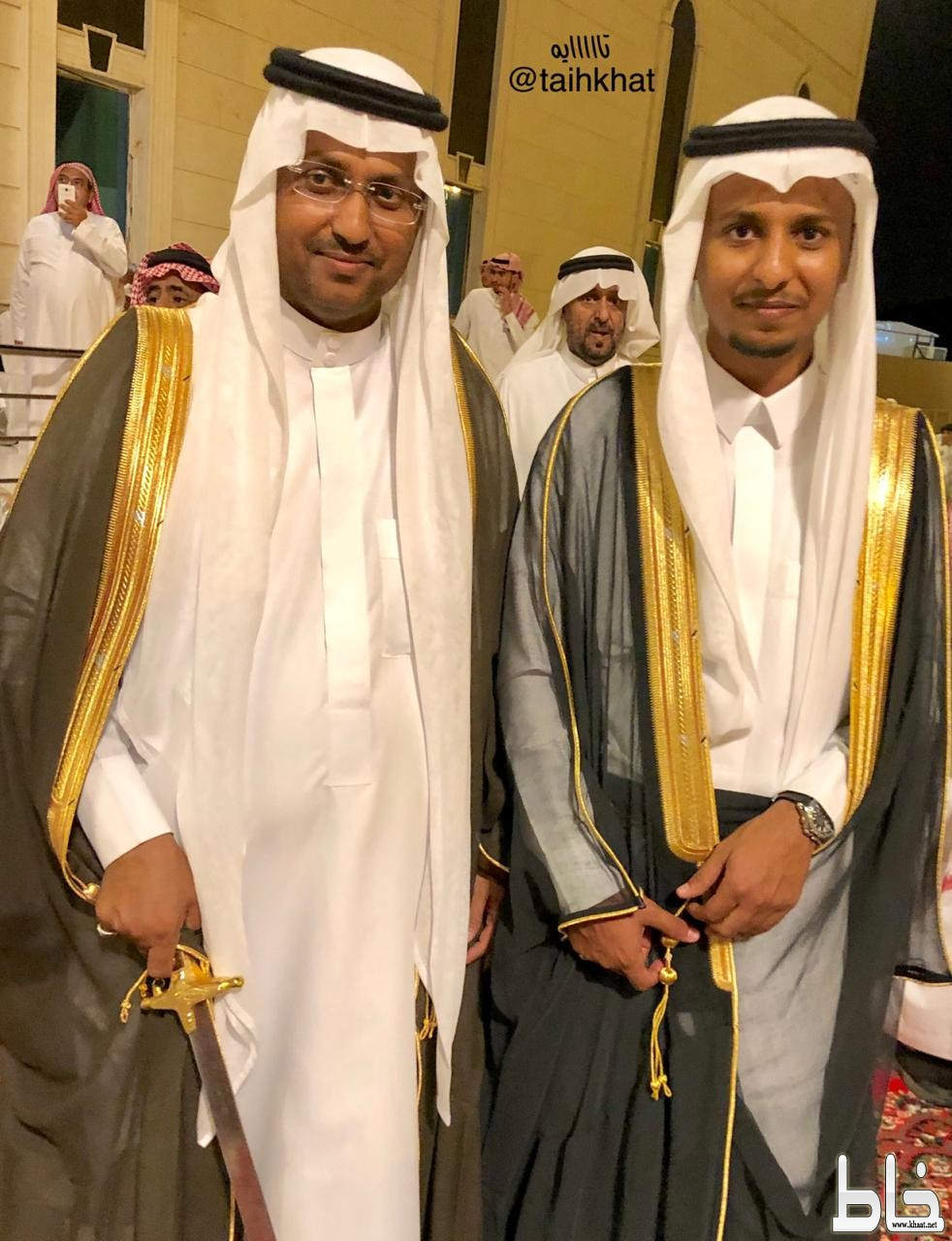 العميد سعد عبدالله العمري يحتفل بزواج ابنه المهندس يحيى
