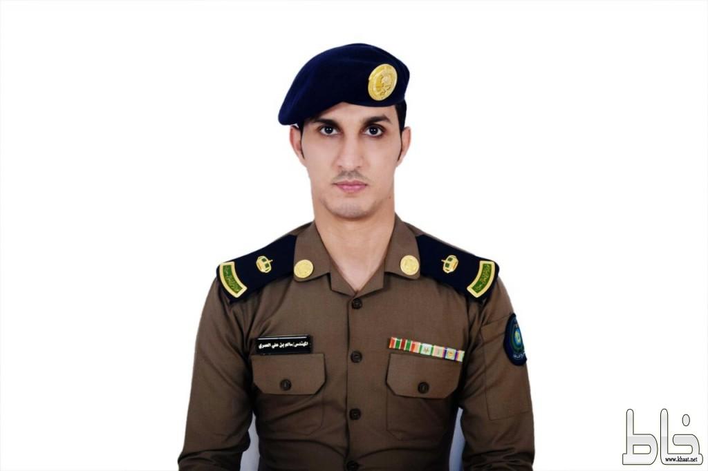 الرائد مهندس سالم علي العمري يغادر لـ مصر لحضور دورة تدريبية
