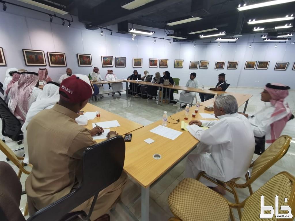 مناقشة فعاليات اليوم الوطني89 خلال الاجتماع الأسبوعي لثقافة وفنون جدة