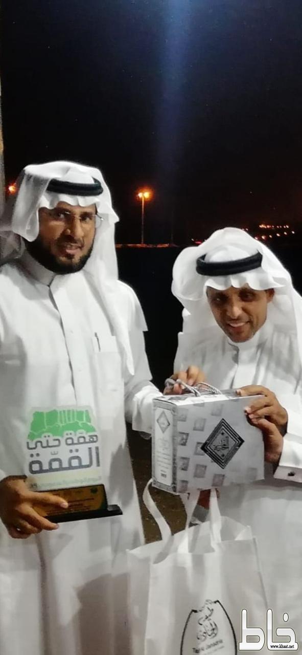 مدرسة الملك عبدالله بخاط من باب الوفاء تكرم الدكتور عبدالله جابر