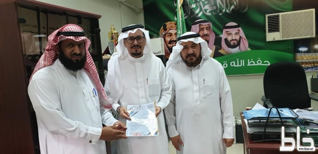 الفيحاء الابتدائية توقع عقد شراكة مجتمعية مع رجل الاعمال عبدالله زهير أبوديه