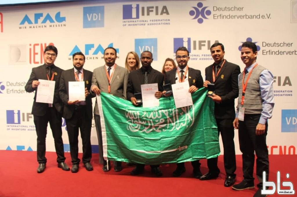 المخترع علي عايض الشهري يحصل على الميدالية البرونزية بين مبتكري العالم في معرض IENA الدولي بالمانيا