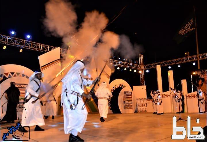 أمسية ثقافية لفرقة رجال الحجر بمهرجان محايل الشتوي