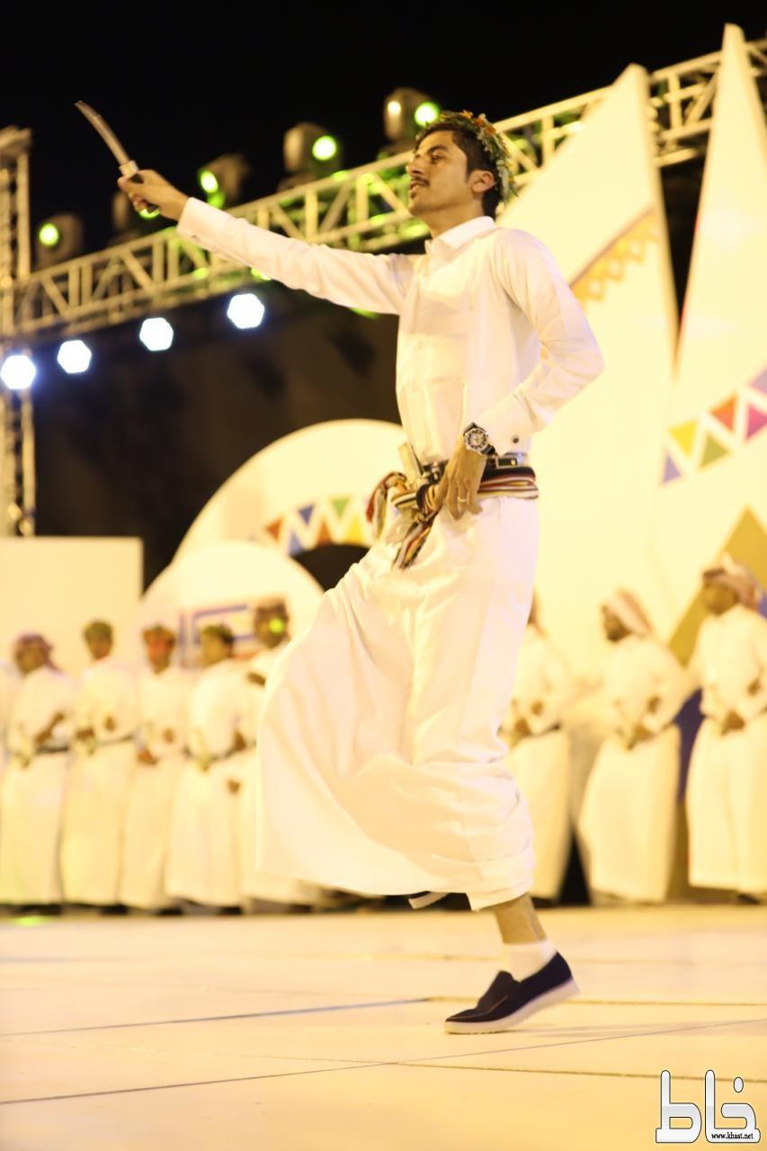 فرقة المنجحه تشارك بأمسية ثقافيه بمهرجان محايل ادفأ