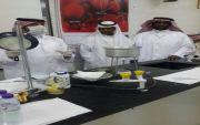 دورة الحليب ومشتقاته بمدرسة الملك خالد الثانوية بالهفوف