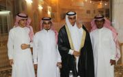 أحمد البارقي يحتفل بزفافة على كريمة أحمد آل الشيخ