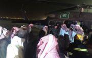 بالصور : استقبال جثمان الشهيد البارقي الى خبت ال حجري بحضور وكيل محافظ بارق