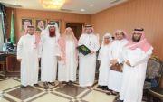 المتحمي يستقبل رئيس وأعضاء جمعية تحفيظ القرآن الكريم بمحايل