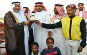 إسطبل ابناء عبد الله باسنبل  يحقق كأس الخمسينيه بمناسبة مرور 50 عام على تأسيس جامعة الملك عبدالعزيز