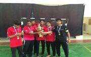 ثانوية عمار بن ياسر تحقق دوري كرة الطائرة بمكتب المجاردة