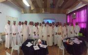 الشريف يقدم دورة توظيف السبورة الذكية في التعليم بصهيب بن سنان والبارقي يكرم المشاركين