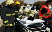 وفاتان و4 إصابات في حريق اندلع بمستشفى نصاب العام