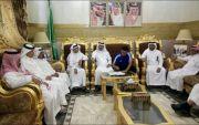 رئيس الفاروق يوقع مع المدرب الوطني محمد الشهري