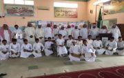 """"""" بالصور """" مدرسة سعد بن عبادة بالظهرة تحتفل بتخرج طلاب الصف الثالث متوسط"""