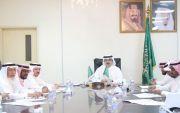 برئاسة ال حموض محلي بارق يعقد جلسته الثانية ويناقش عدداً من المشاريع الخدمية