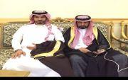 دحمان محمد الشهري يحتفل بعقد قرانه