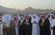 الشهراني: يتقدم  المصلين في صلاة عيد الفطر المبارك بمركز أحد ثربان