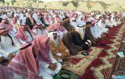 بن حموض يتقدم المصلين بمصلى العيد بمحافظة بارق
