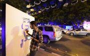 شخصية الملك سلمان تتصدر لوحات البورترية في شارع الفن