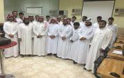 الدكتور عبدالله جابر يقدم خدمة العملاء بمعهد القدرات المتقدمة للتدريب بالمجاردة