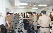 قائد قوات امن الحج يتفقد قوات امن المرور المشاركة