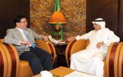 وكيل وزارة الداخلية يستقبل سفير جمهورية الصين