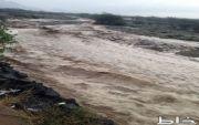 أمطار غزيرة على محافظة المجاردة ومراكزها