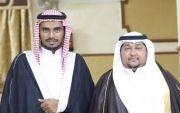 محمد البارقي يحتفل بزواجة بقاعة الماسية