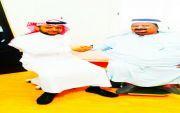 الاستاذ حسن منصور العمري يشكر الدكتور علي الشهري