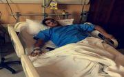 """المصور الفوتوغرافي حسين الشهري يجري عملية """" الرباط الصليبي """" بمستشفى سليمان الحبيب بالرياض"""