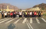عمار بن ياسر تقيم سباق اختراق الضاحية بمشاركة ٨٠ طالب